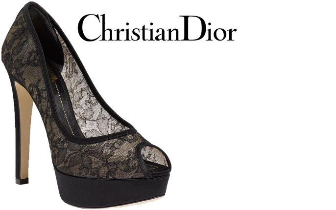 Christian Dior Lace Pump