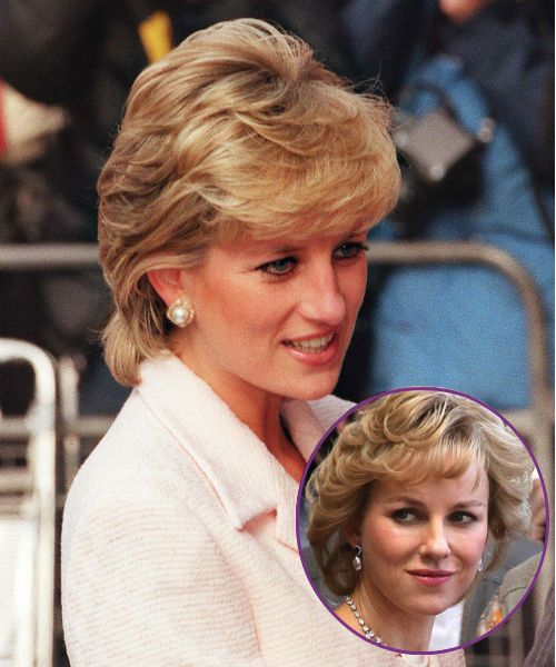 Naomi Watts & Late Princess Diana
