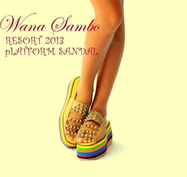 Wana Sambo Platform sandal