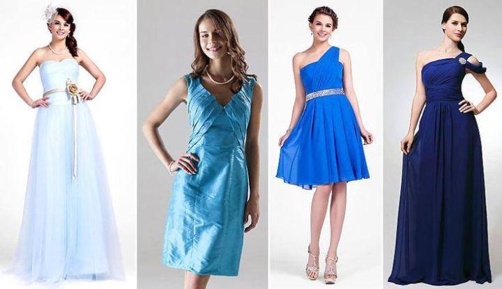Bridemaids in Blue