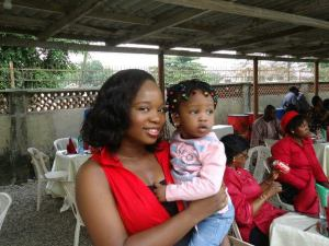 iyanuoluwa and niece