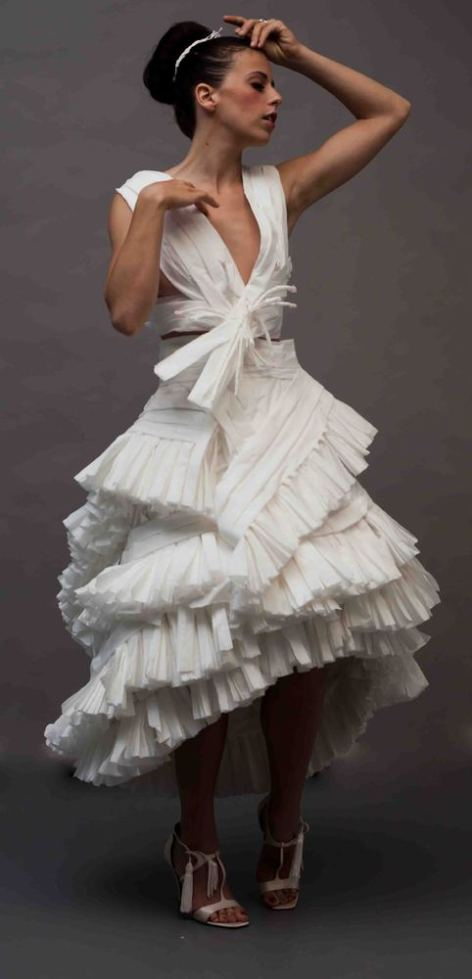 Wedding Dresses Made Out Of Toilet Paper Obsessed b23E5fAt