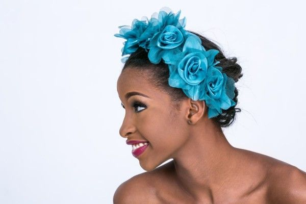 Ene Maya Lawani Hair Fascinator Collection