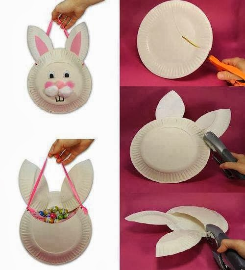 Paper Plate Bunny bag obsessed